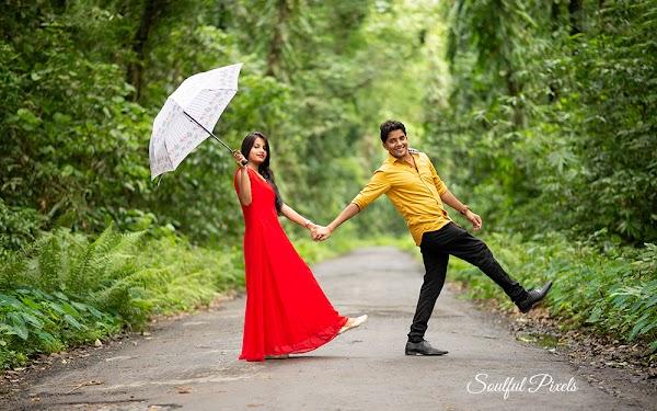 Pre-Wedding Shoot Inside a Jungle