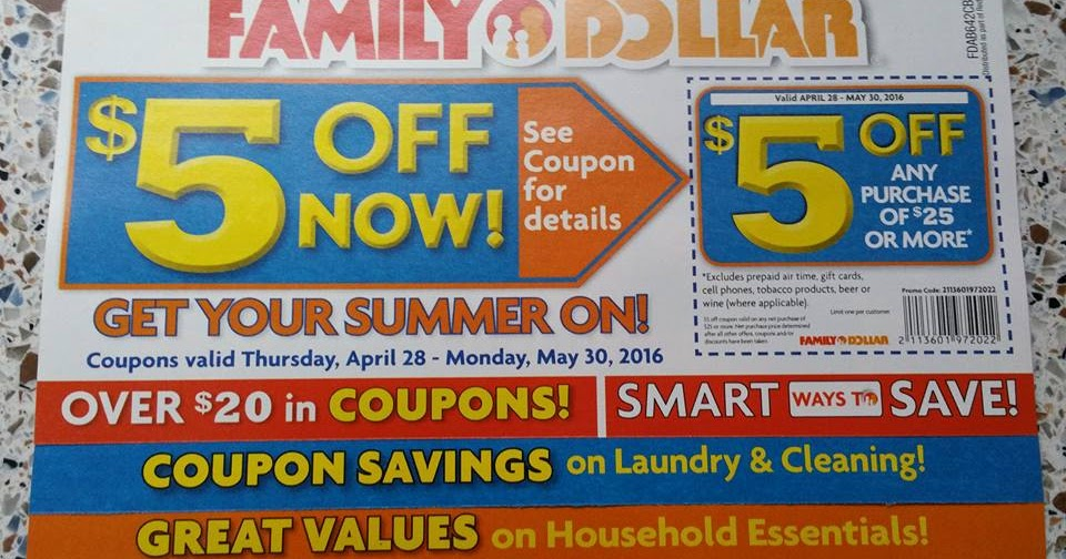 family dollar deals new store coupons for may 2016 spend less shop more - Family Dollar Prepaid Cards