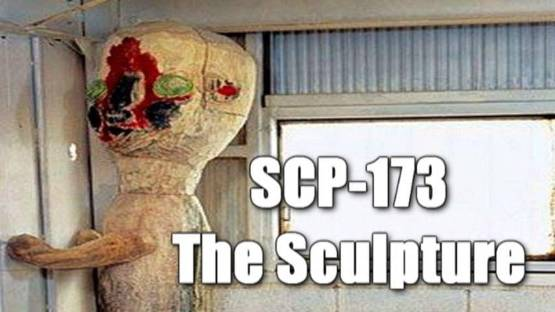 SCP 173 THE SCULPTURE patung pembunuh