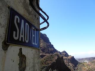 vistas de el valle de Agaete