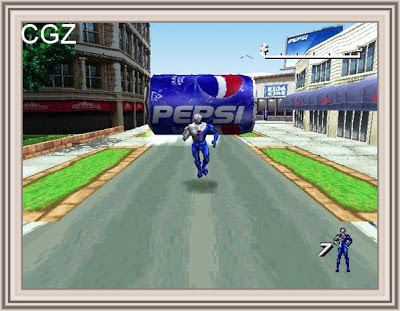 Pepsi Man Game paly