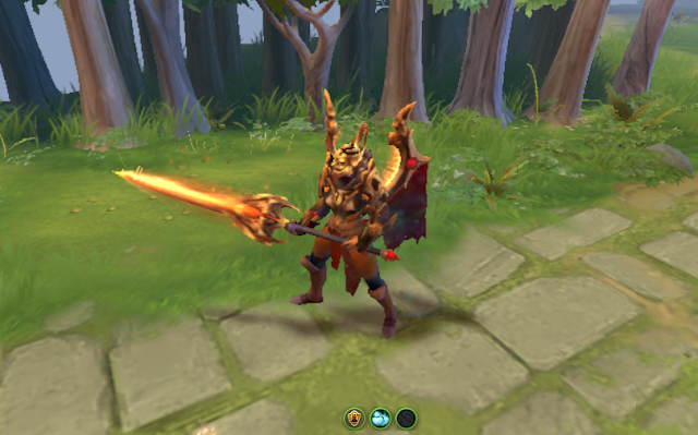 Mod Daemonfell Flame Legion Commander