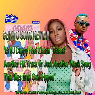 """Finally The Song Is Out! Gelato...Gelato... Gelato Well That's A Hint And Am Sure You Know Which Song Am Talking About Is Non Other Than Disc Jockey/Music Producer DJ Cuppy """"Gelato"""" Featuring Reave Of The Moment Zlatan Fresh From His """"Shotan"""" Hit Song And They Both Made It Awesome Track."""