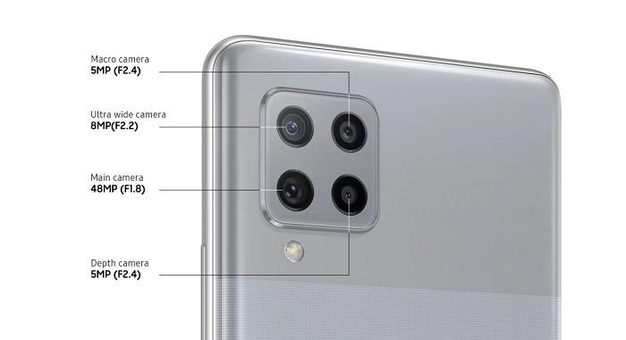 Samsung Galaxy A42 5G Camera Specs