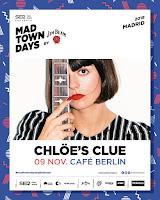 Concierto de Chlöe's Clue en el Café Berlín