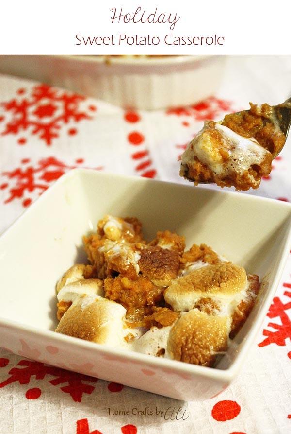 Thanksgiving Side Dish Sweet Potato Casserole Recipe