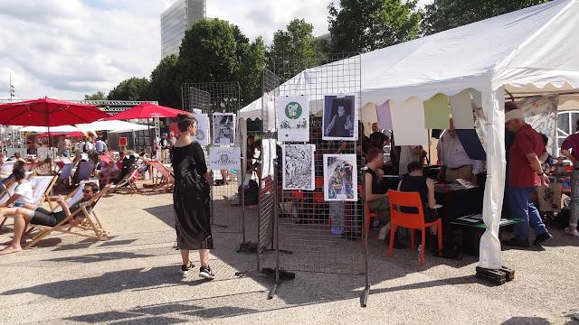 festival BD6Né village BD et expo cinema français c'est de la merde
