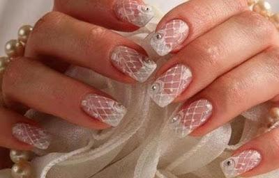 Uñas de gel para novias