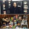 आई.पी.एस बसंत रथ प्रतियोगी परीक्षाओं के इच्छुक उम्मीदवारों को मुफ्त किताबें वितरित कर रहे हैं