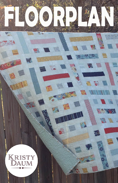 FLOORPLAN Quilt Pattern // Kristy Daum // St. Louis Folk Victorian