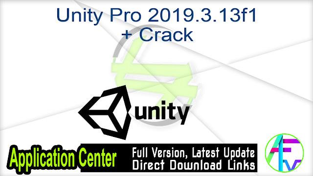 Unity Pro 2019.3.13f1 + Crack