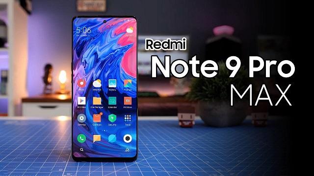 سعر ومواصفات هاتف Redmi Note 9 Pro Max احدث هواتف شاومي