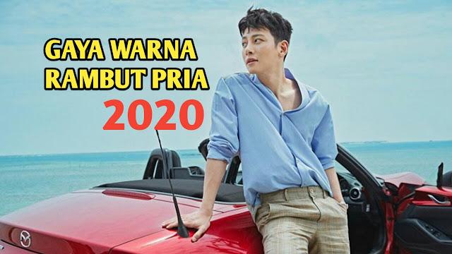 Model Warna Rambut Pria Terkeren Yang Akan Trend 2020