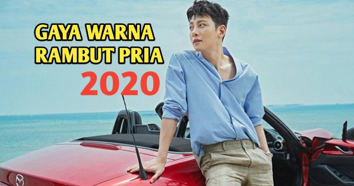 Model Warna Rambut Pria Terkeren Yang Akan Trend 2020 ...