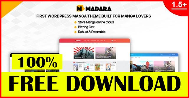 Madara-v1.6.4.5-WordPress-Theme-for-Manga-download
