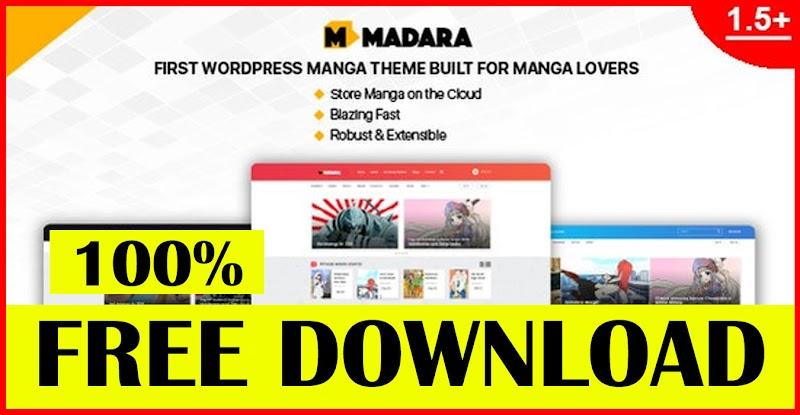 MADARA V1.6.5 – WORDPRESS THEME FOR MANGA - DOWNLOAD