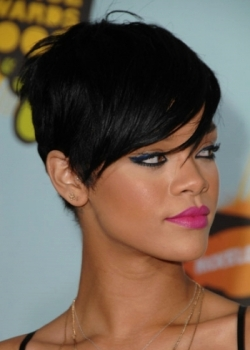 Excellent Rihanna Short Hairstyles 99 Hairstyles And Haircuts Short Hairstyles Gunalazisus
