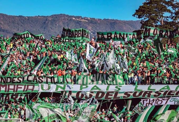 Aumentan aforo para ingreso de hinchas al Atanasio Girardot, de cara al partido entre Atlético Nacional y Deportivo Cali