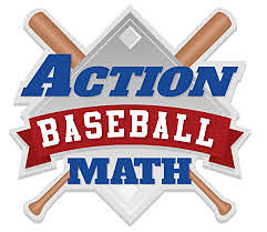 Action Math Baseball logo