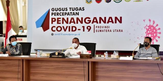 Gubernur Edy Rahmayadi Ingatkan ASN Harus Netral saat Pilkada