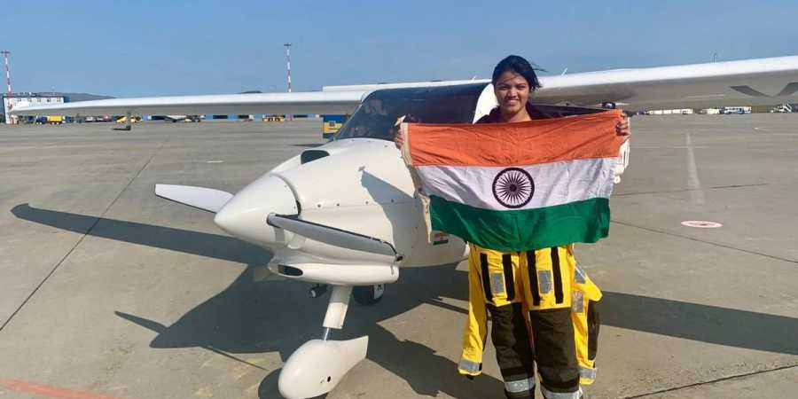 A 23 year old girl of Mumbai named Aarohi Pandit who became the first women pilot to cross both the Pacific Ocean and the Atlantic ocean solo.