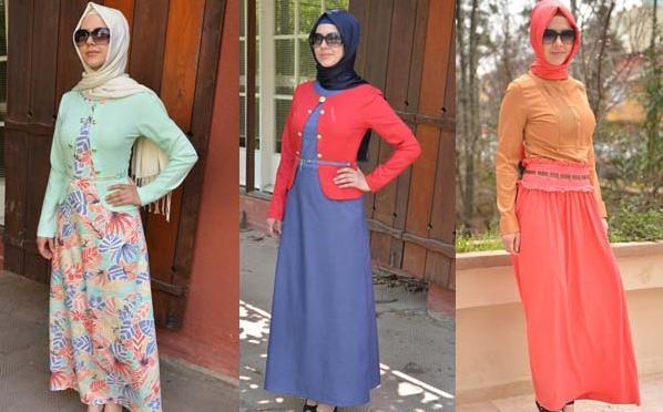 99f163999a450 أجمل مجموعة ملابس محجبات صيف 2013