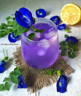 Ide Resep Membuat Iced Butterflypea and Lime