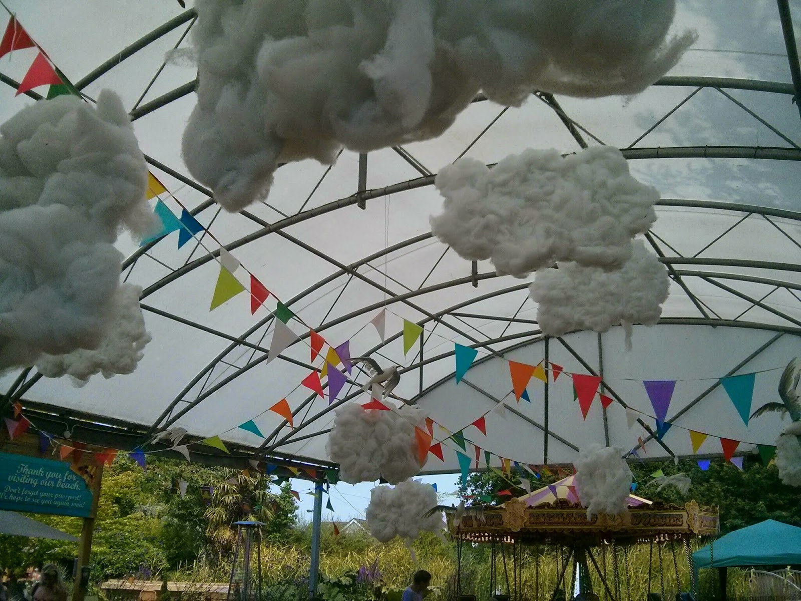 The Indoor Outdoor British Weatherproof Beach at Frosts Garden Centre