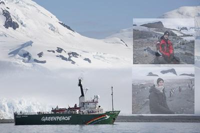 Galardonados de Hollywood cambian la alfombra roja por la Antártida
