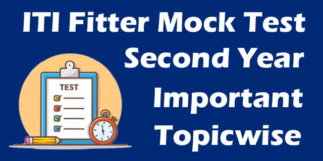 fitter second year mock test