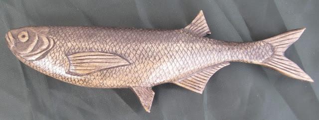 деревянные рыбы России - чехонь