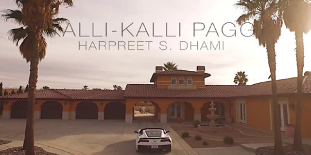 Kalli Kalli Pagg Lyrics - Harpreet S Dhami - Latest Punjabi Song 2017