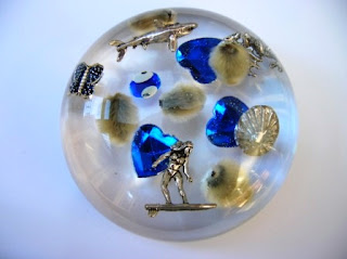 Custom made paperweight for trinkets