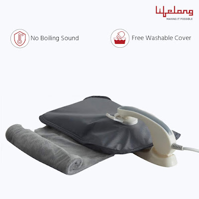 Hot Water Bag Lifelong LLM261 Electric for Full Body Pain Relief