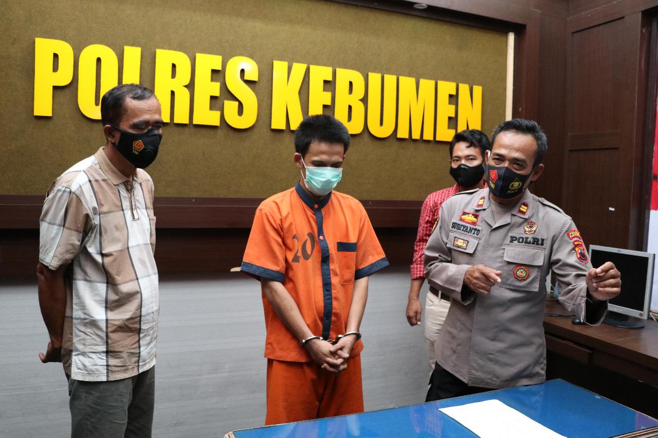 Aktingnya Dibongkar Polisi, Pemuda Asal Klirong ini jadi Tersangka Pencurian Motor