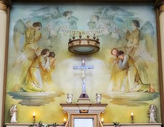 Os Anjos Orando, Aldo Locatelli e Emílio Sessa, Catedral São Luiz Gonzaga, Novo Hamburgo