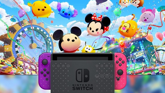 Nintendo Switch new console is based on Disney Theme