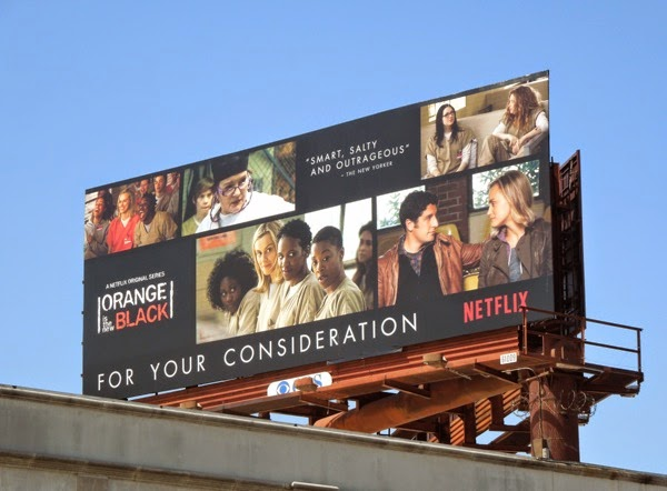 Orange is the New Black Emmy 2014 billboard