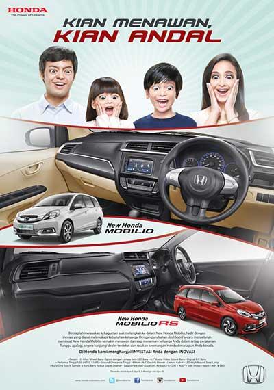 Honda Mobilio Baru Bandung 2016