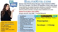 Bursa Kerja Surabaya di BalitaKita.com Januari 2020