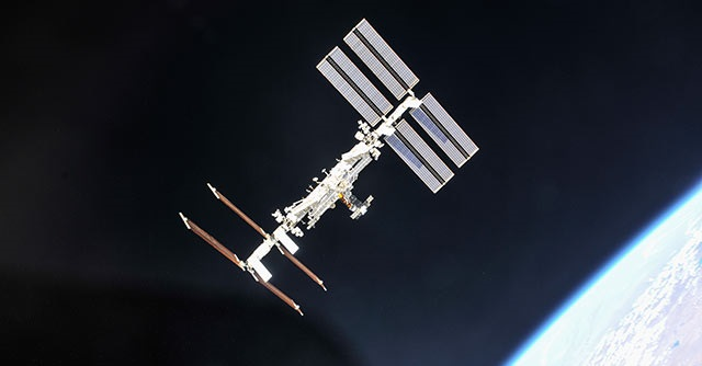 International Space Station, credit: NASA/Roscosmos