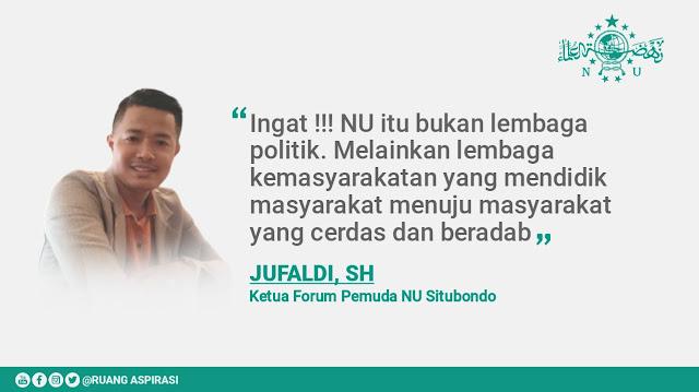 Ketua Forum Pemuda NU Situbondo Beri Ultimatum: Tolak Politik Uang di Konfercab NU Situbondo 2021
