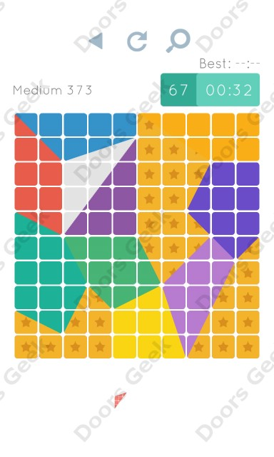 Cheats, Walkthrough for Blocks and Shapes Medium Level 373