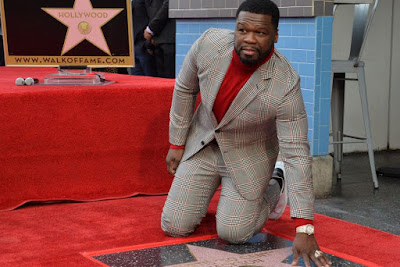 50 Cent receives star on Hollywood Walk of Fame