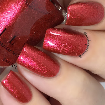 ILNP Love Me Not swatch Spring 2018 Ultra Metallic Brights Collection