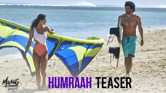 Humraah - | Malang lyrics song | Aditya R K, Disha P, Anil K, Kunal K | Sachet T