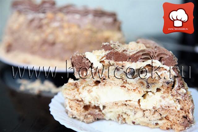 рецепт вкусного киевского торта с фото