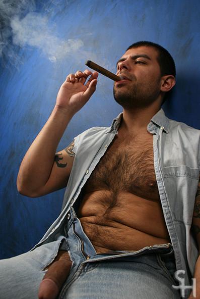 Smoking Cigar Porn