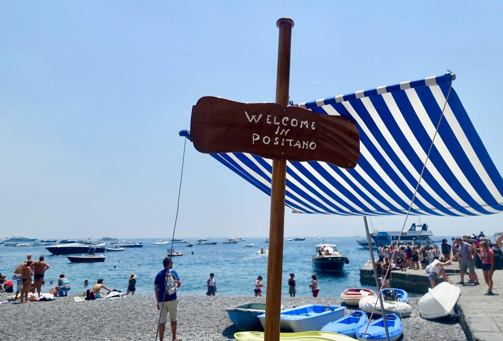 Postitano beach