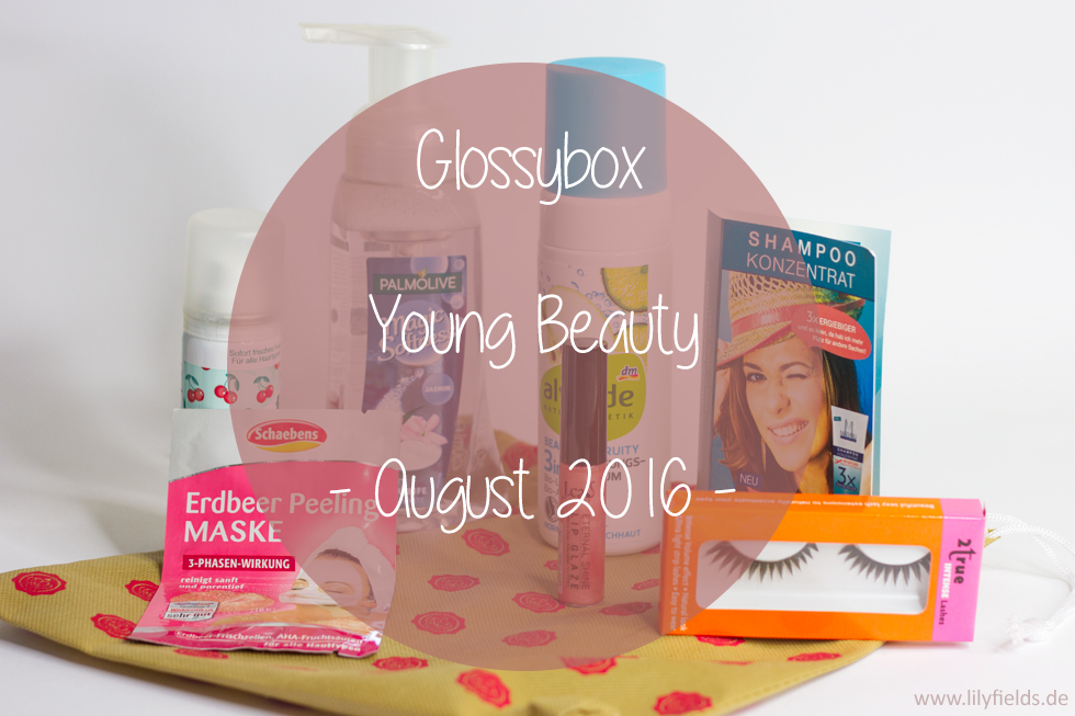 Glossybox Young Beauty - August 2016 unboxing